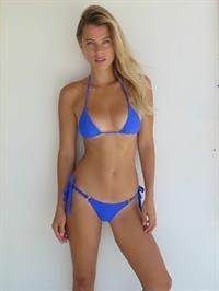 Camille Neviere in a bikini
