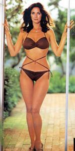 Lynda Carter in a bikini