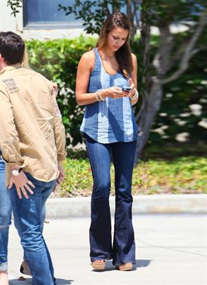 Jessica Alba out in Montebello on July 31, 2012