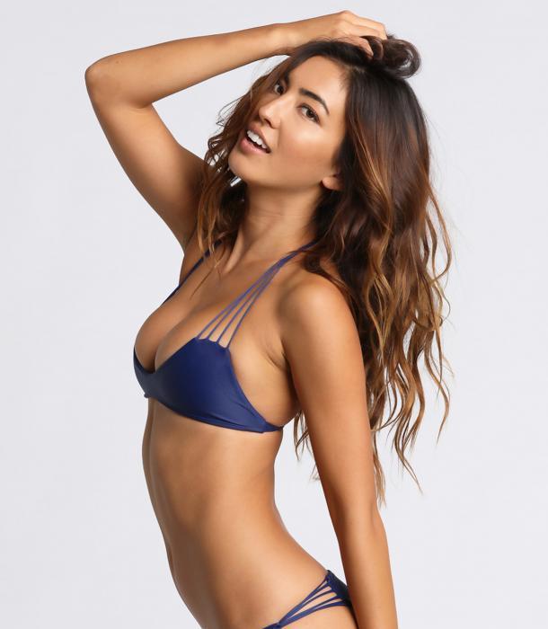 Leila Thomas in a bikini