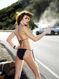 Danneel Harris in a bikini - ass