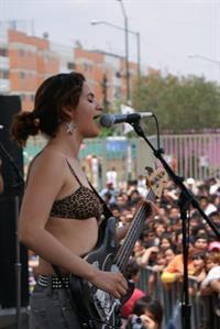 Jessy Bulbo in a bikini