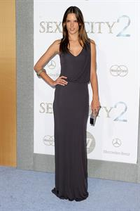 Alessandra Ambrosio Sex and the City 2 premiere at Radio City Music Hall on May 24, 2010 in New York City