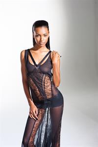 Jasmine Tookes in lingerie