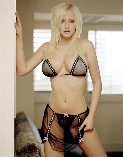 Michelle Marsh in lingerie