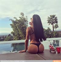 Bruna Lima in a bikini - ass