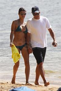 Amal Clooney in a bikini