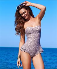 Lisalla Montenegro in a bikini