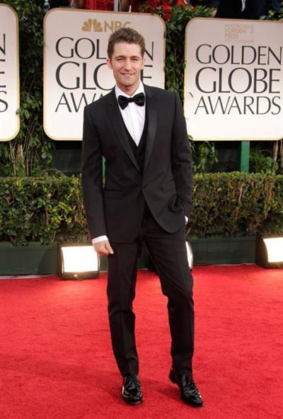 Matthew Morrison at the Golden Globe Awards