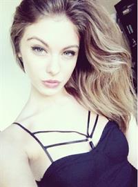 Carmella Rose taking a selfie