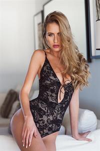 Renee Somerfield in lingerie