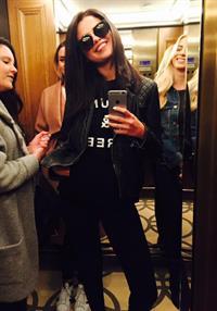 Selena Gomez taking a selfie