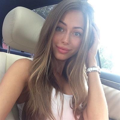 Galinka Mirgaeva taking a selfie