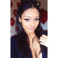 Jayde Pierce taking a selfie