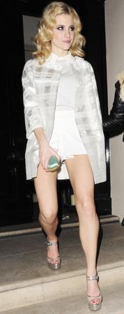 Pixie Lott leaving a nightclub in London 3/9/13