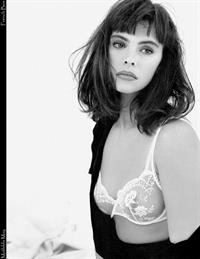Mathilda May in lingerie - breasts