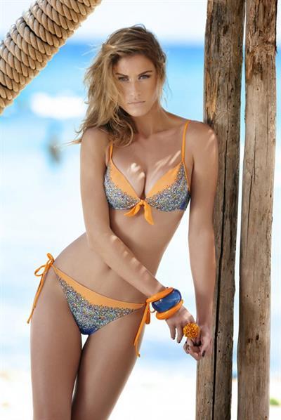 Olga Kent in a bikini