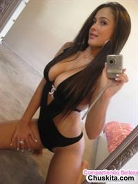 Rebecca Battino in a bikini