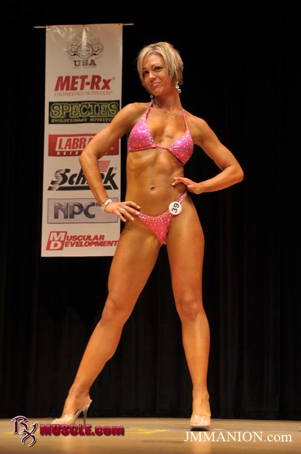Nicole Raczynski in a bikini