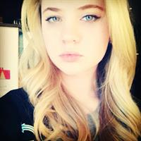 Sierra McCormick taking a selfie