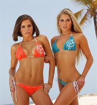 Lily Watters in a bikini