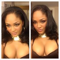 Maliah Michel taking a selfie