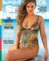 Sports Illustrated Swimsuit 2016 - Ronda Rousey body paint