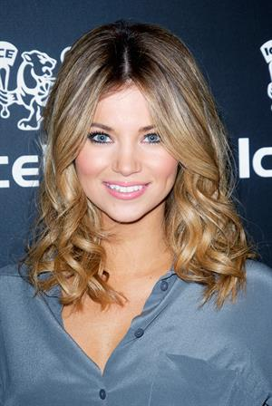 Amber Lancaster at IceLink Flagship Store Opening in LA