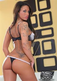 Mya Nichole in lingerie - ass