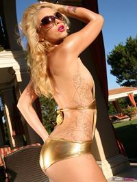 Monique Alexander in a bikini