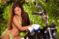 Michelle Maylene in a bikini