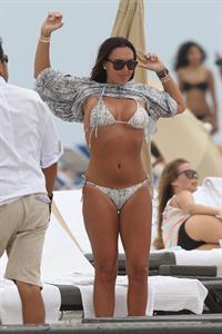 Tamara Ecclestone in a bikini