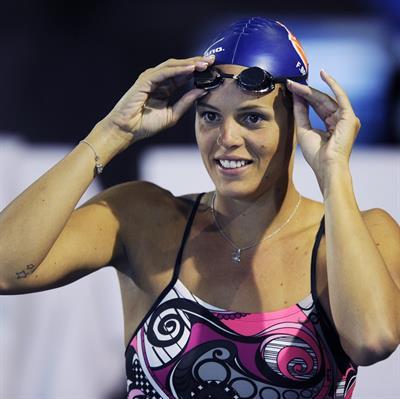 Laure Manaudou in a bikini