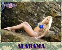 Tiffany Paige Brooks in a bikini