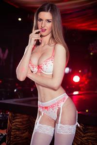 Stella Cox in lingerie