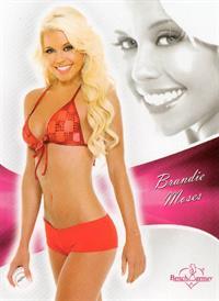 Brandie Moses in lingerie