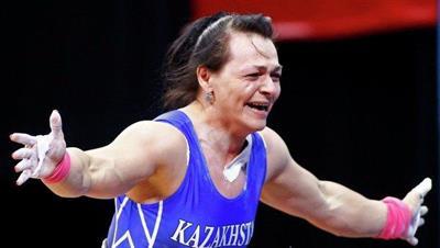 75 kg Women's Weightlifting 2012 London Gold Medal Winner