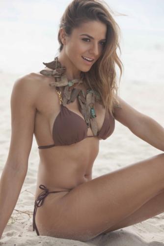 Vanessa Escote in a bikini