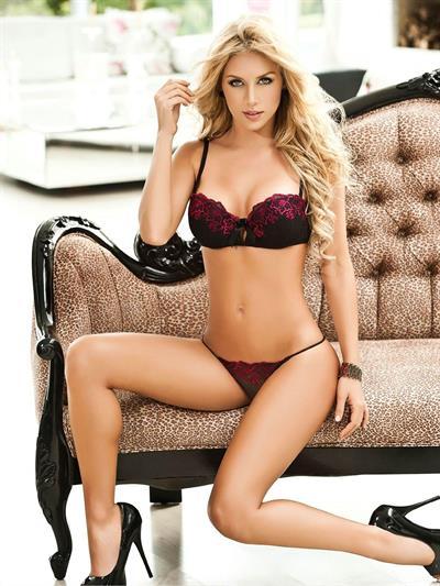 Lina Posada in lingerie