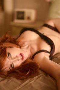 Kendra James in lingerie