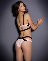Violet Budd in lingerie - ass