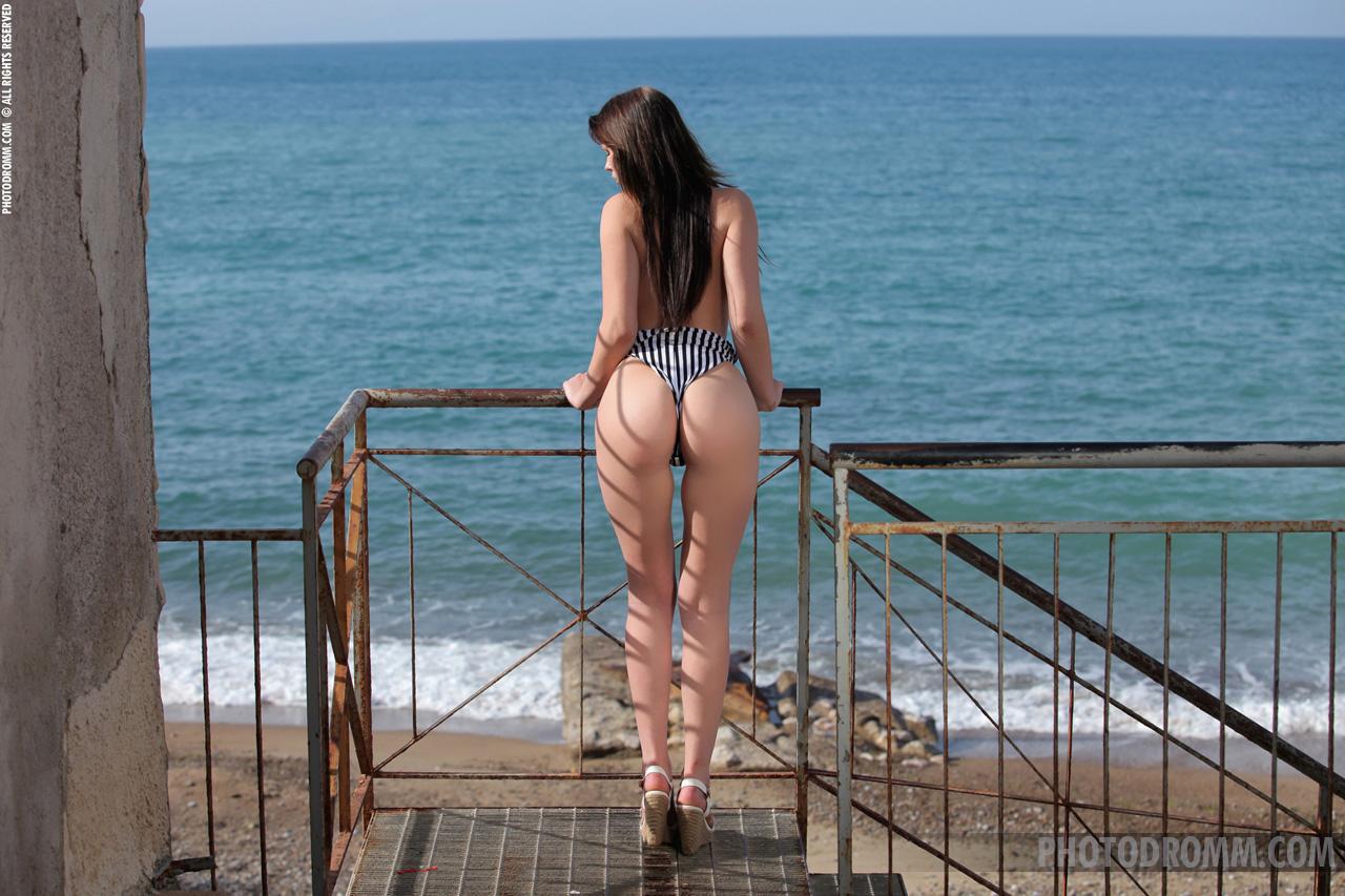 Corinne in a bikini - ass