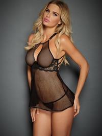 Rachel Mortenson in lingerie