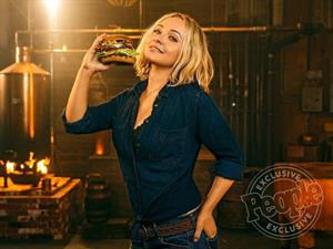Hayden Panettiere in a Carl's Jr Commercial