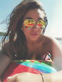 Alicia Michaela taking a selfie