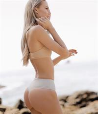 Amber Davis in lingerie - ass
