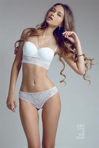 Lyubov Gulyak in lingerie