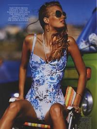 Stephanie Cherry in a bikini