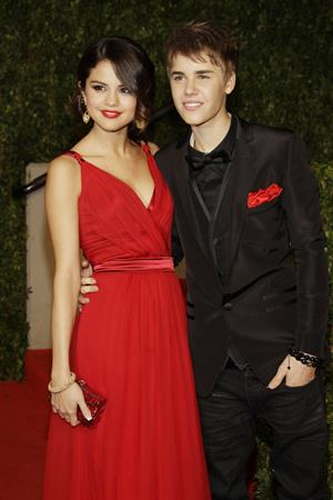 Selena Gomez Vanity Fair Oscar party in West Hollywood on February 27, 2011