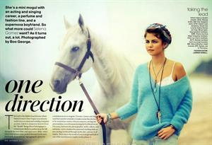 Selena Gomez teen vogue september 2012